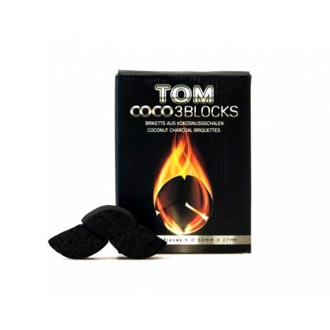 Węgielki Kokosowe do Shishy TOM 3-Blocks
