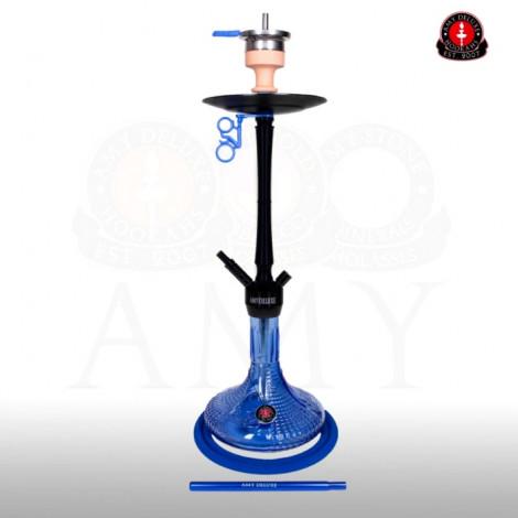 AMY Shisha - Alu Luna Blue - BK (068.01) 80cm