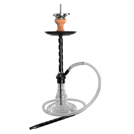 KAYA SHISHA ELOX PENTAGON - Medium Black 60cm