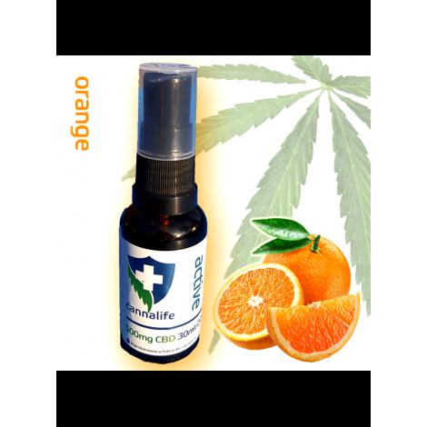Olej CBD + MCT 30ml SPORT - Pomarańcz