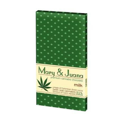 Czekolada Mleczna Mary & Juana - 80g