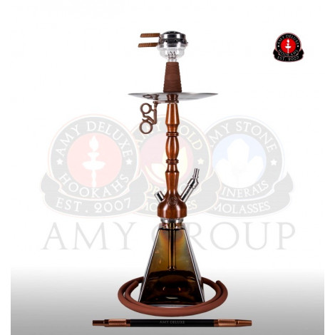AMY Shisha - 080.01 Woodini Brown 73cm