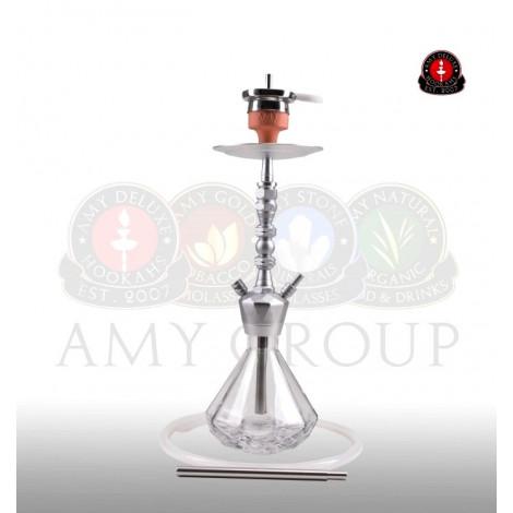 AMY Shisha 062 - Alu Diamond S - Clear 62cm