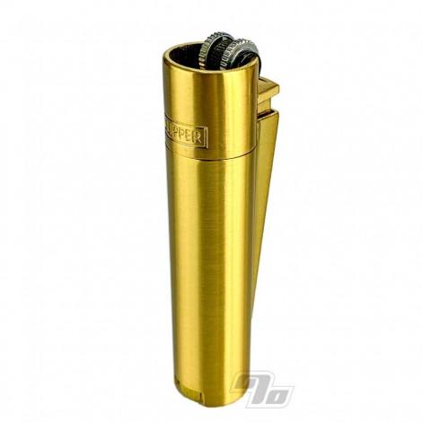Zapalniczka Clipper Metal Gold - Złota