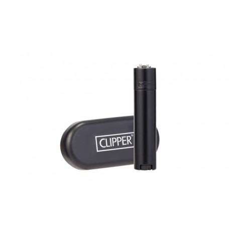 Zapalniczka Clipper Metal Mat Black - Matowy Czarny