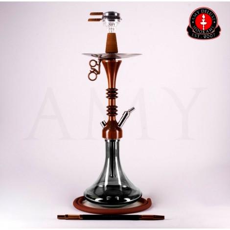AMY Shisha 081R - Wooky Black/Brown75cm