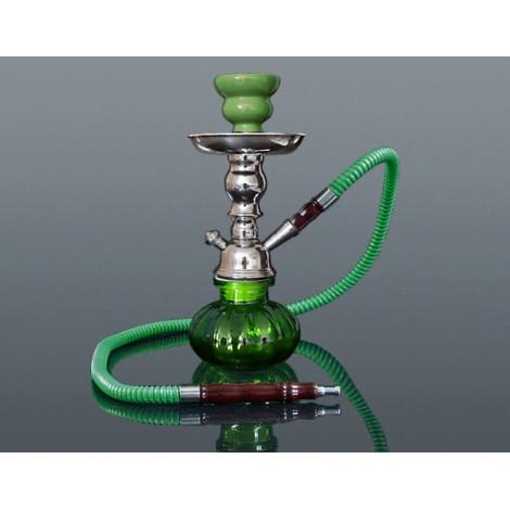 Shisha Pączek z Kuferkiem - Zielona 24cm