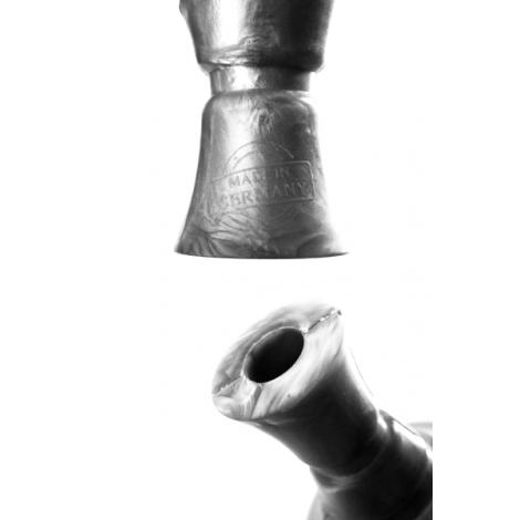 Silkonowy Cybuch do Shishy Kaya Funnel - Silver