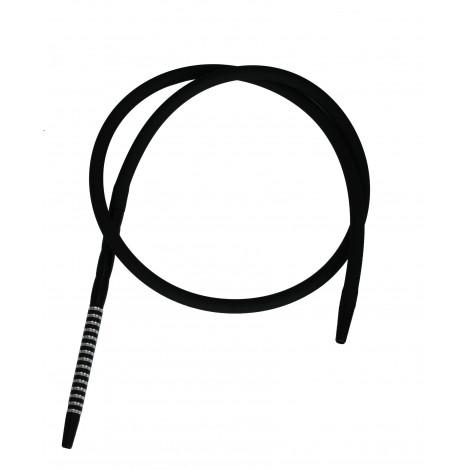Wąż do Shishy Sylikonowy + Ustnik - Black