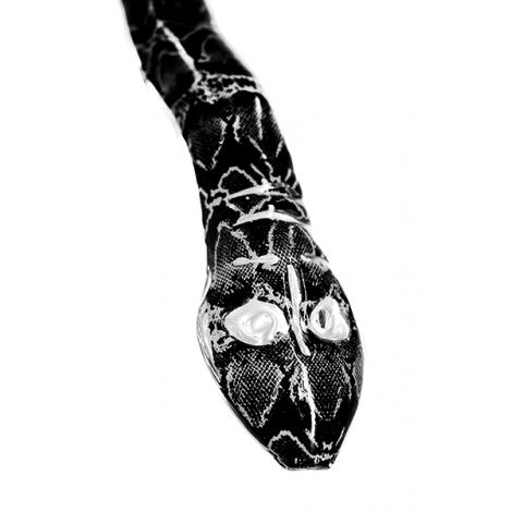 Wąż do Shishy Sylikonowy + Ustnik w Kształcie Węża