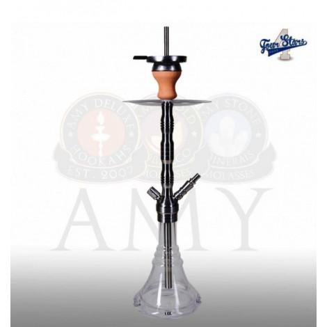 AMY Shisha - 4-Stars SS2002 - Clear 62cm