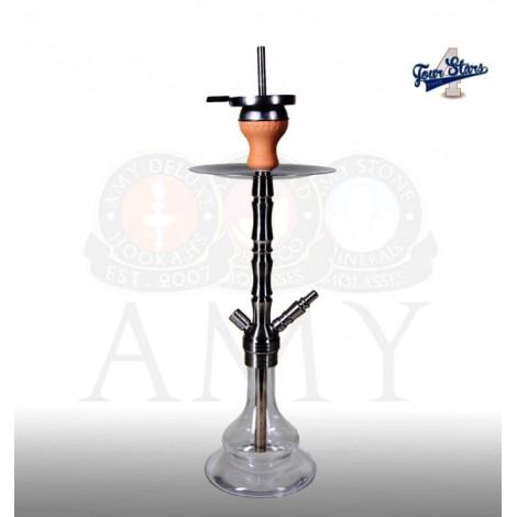AMY Shisha - 4-Stars SS2003 - Clear 58cm