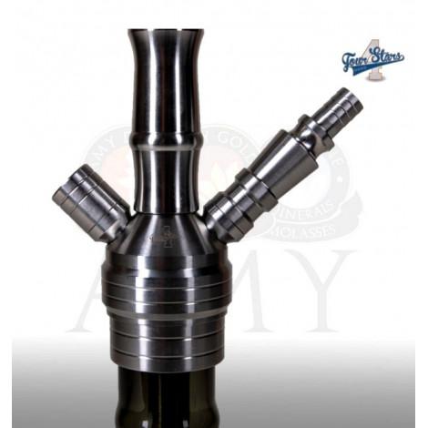 AMY Shisha - 4-Stars SS2001 - Clear 60cm