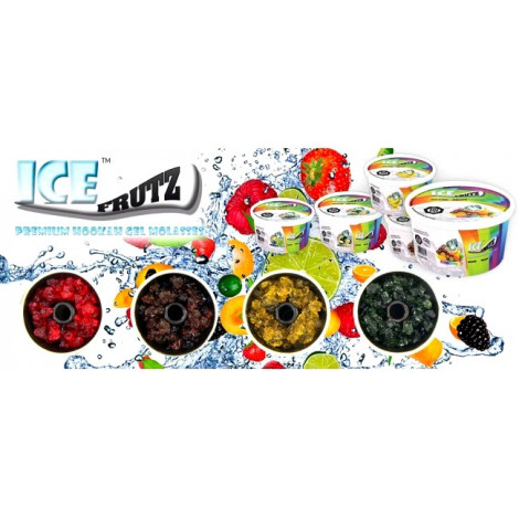 Żel do Sziszy ICE FRUTZ - Cytryna Limonka 120g