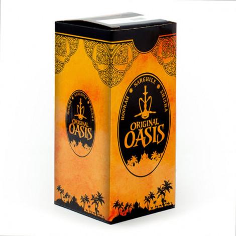 Shisha Oasis Nafisa Akrylowa - Czerwona 24 cm