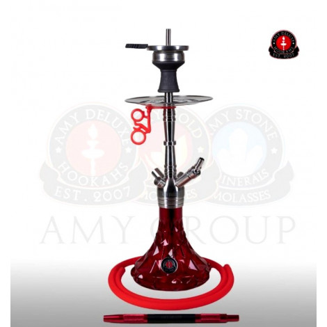AMY Shisha Deluxe - SS20.02 Little Trilliant Red 56cm