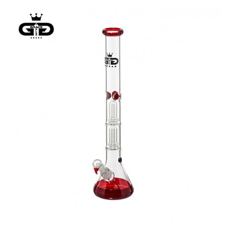 Bongo Lodowe z Dyfuzorami GG - Big Baked Beaker RED