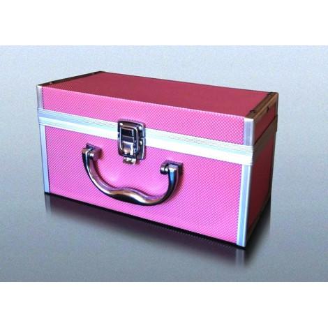 Kuferek Box na Fajkę Wodną - Różowy Mały