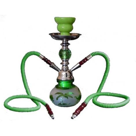 Shisha Pączek Camel 2 Węże -  Zielona