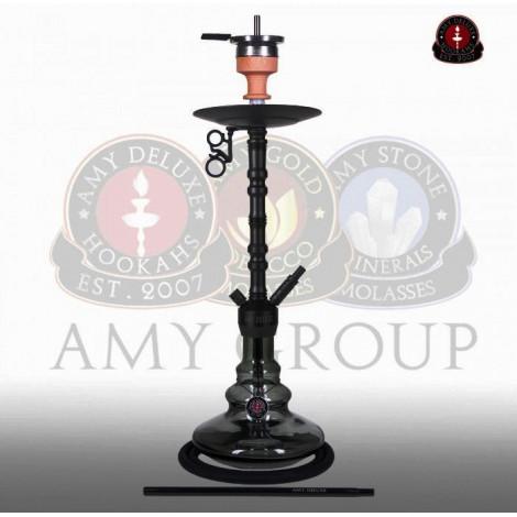 AMY Shisha - Alu Zulu Black B (070.01) 80cm