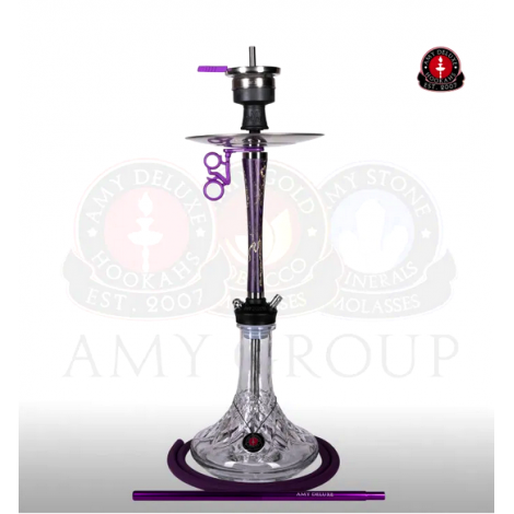 AMY Shisha - 112 Radiant Purple 75cm