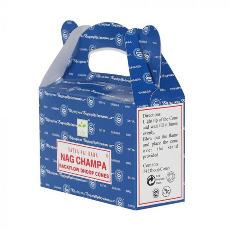 Kadzidełka Stożkowe Nag Champa - Backflow Dhoop