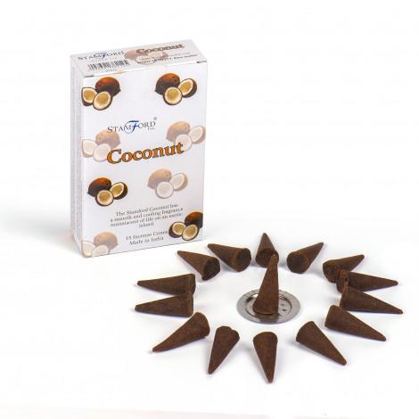 Kadzidełka Stożkowe STAMFORD - Coconut