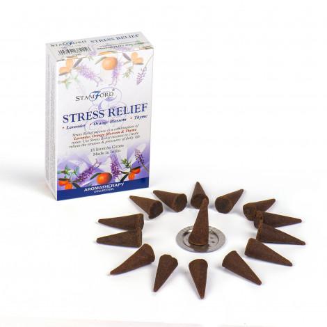 Kadzidełka Stożkowe STAMFORD - Stress Relief