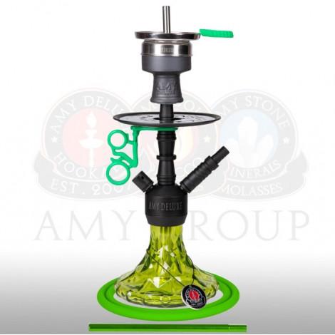 AMY Shisha 107.03 - Alu Brilli Green - 38cm