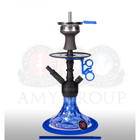 AMY Shisha 107.03 - Alu Brilli Blue - 38cm