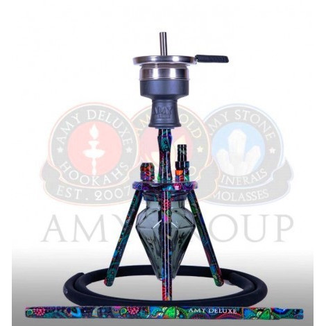AMY Shisha 111 - Play M5 Black 35cm