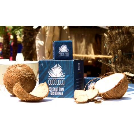 Węgiel do Shishy Kokosowy - COCOLOCO 26 - 1Kg