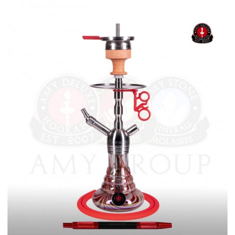 AMY Shisha Deluxe - SS17 Baby Style Red 48cm
