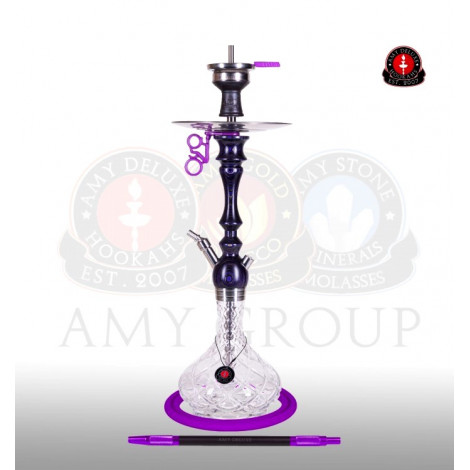 AMY Shisha 101 - Bohemian Cut Purple 72cm
