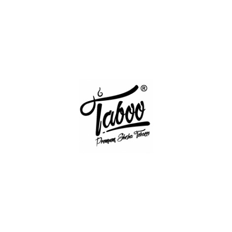 Tytoń do Shishy TABOO 50g - Mięta & Granat