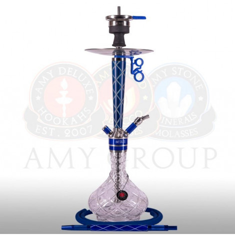 AMY Shisha 102.02 - X-Ray Blue 56cm