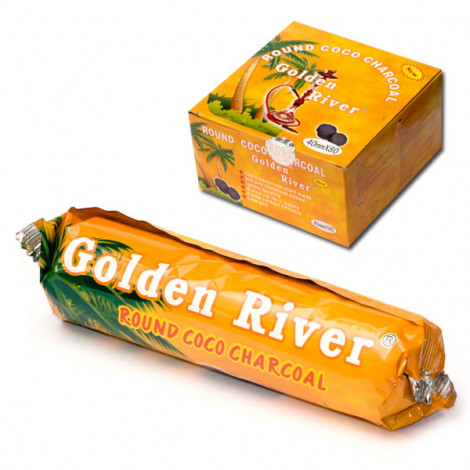 Węgielki Kokosowe do Shishy GOLDEN RIVER