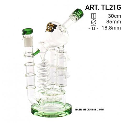 Bongo Grace Glass z Dyfuzorami - Microscope 30cm