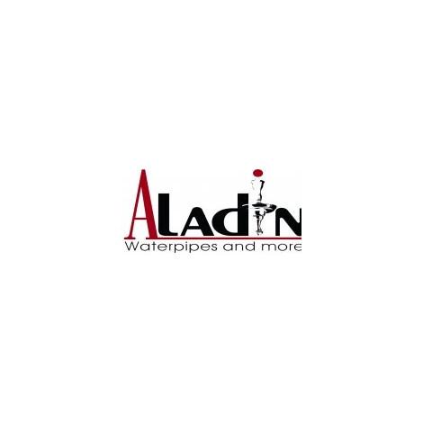 Shisha Aladin ROY TWO - Czerwona 40cm