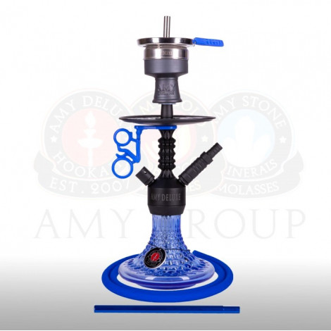 AMY Shisha - Alu Antique Mini Blue (072.03) 38cm
