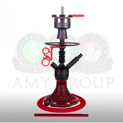 AMY Shisha - Alu Antique Mini Red (072.03) 38cm