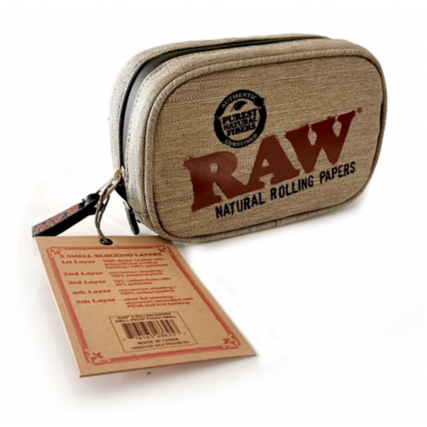 Saszetka Raw - Smell Proof Smokers Pouch - Medium