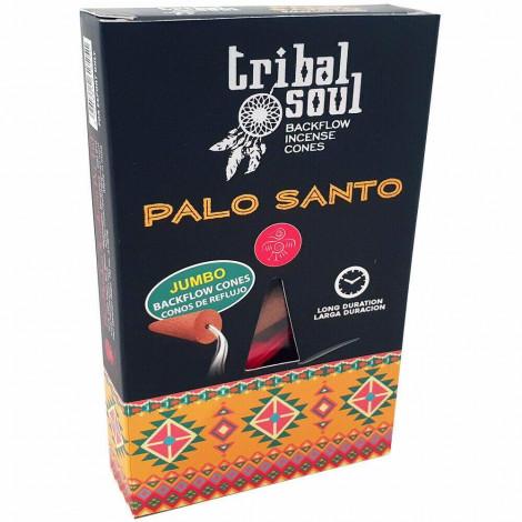 Kadzidełka Stożkowe Tribal Soul BACKFLOW - PALO SANTO 10 szt