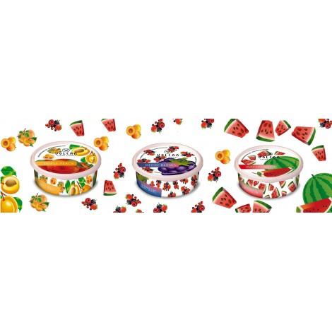 Kamyczki do shishy VOLCAN - mix 16 owoców