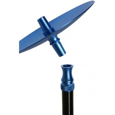 KAYA SHISHA ELOX - Carbonia Blue 63cm
