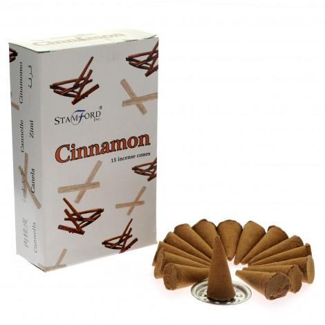 Kadzidełka Stożkowe STAMFORD - Cinnamon