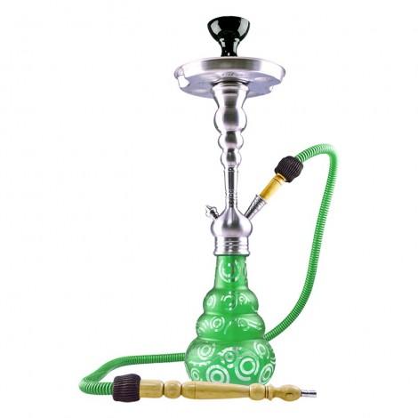 Shisha Aladin Roy Twenty - Green 60 cm