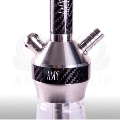 AMY Shisha - SS31.02 Carbonica Lucid Clear 56cm