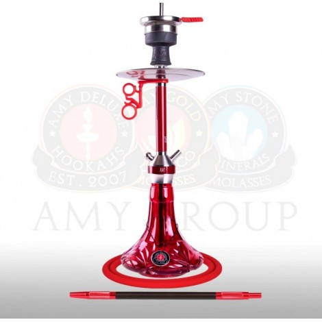 AMY Shisha - SS31.02 Carbonica Lucid Red 56cm