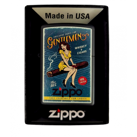 Zapalniczka ZIPPO - Cigar Girl Design